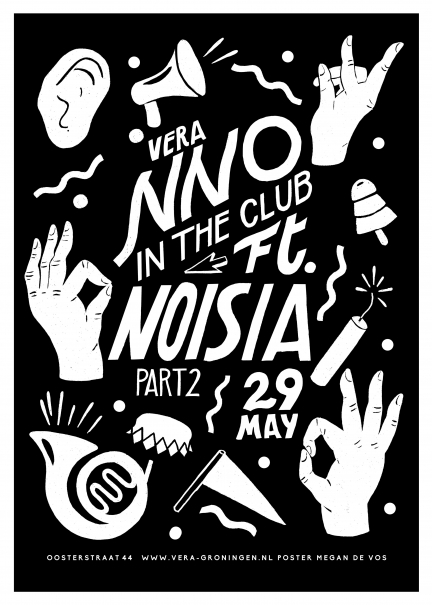 Screenprint Noisia and NNO