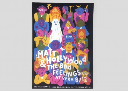 Screenprint Matt Hollywood & The Bad Feelings